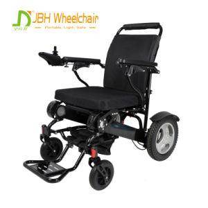 車、トレインおよび飛行機旅行のための小さい携帯用電動車椅子