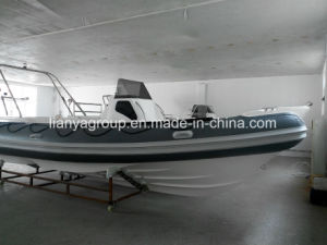 Liya 8.3mの膨脹可能なガラス繊維の漁船の速度の漁船の肋骨のボート