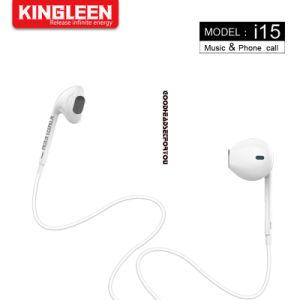 Kopfhörer Ohr im StereoEarbuds Mikrofon-Lautstärkeregler für alle 3.5mm Audios-Stecker-Einheit