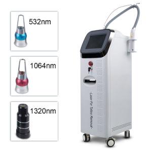 Novo Tipo 2500W de mão de casca de carbono Rejuvenescimento da pele ND YAG Laser máquina para remoção de tatuagens