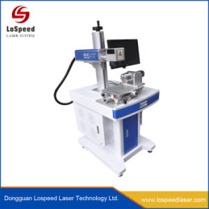 Máquina de marcação para o Pet garrafa de água de fibra de Marcação de logotipo gravura a laser