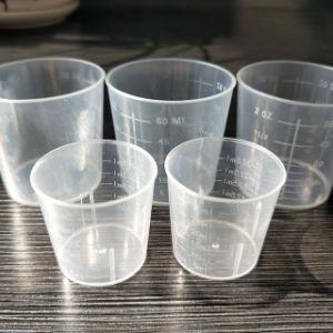Médicos desechables productos desechables de plástico de 1oz medicina vaso de plástico