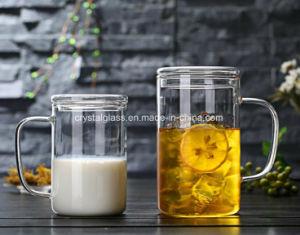 Caffè caldo Drinkware della tazza di tè del commestibile di vendita con la maniglia ed il coperchio 350/500ml