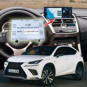 Voiture GPS portable de navigation GPS pour d'interface vidéo Lexus Nx après août 2017