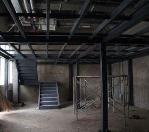 Edificio de ingeniería prefabricadas con bastidor de la estructura de acero