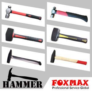 Machiniste d'un marteau en acier au carbone des outils à main (FM-HM-059)