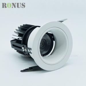 LED spotlight COB prix commercial de luxe Spot de plafond 3-25W Ampoule lampe eclairage intérieur Downlight