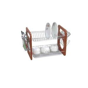 Portátil de la cocina de nivel 2 Plato de especias Tendedero