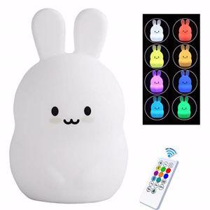 Fabrik kundenspezifisches Baby-Nachtlicht der Qualitäts-LED mit Silikon-Shell 100% für das Baby-Schlafen