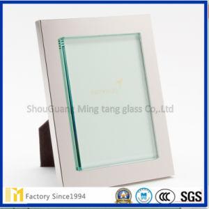 """bordo di 2mm """"C"""" o vetro di vetro di Frameing di arte del bordo della cornice del blocco per grafici di vetro """"rotondo"""" della foto per la decorazione"""