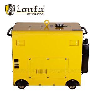Tipo silenzioso eccellente cinese generatore insonorizzato del motore diesel 5kw del generatore per uso domestico