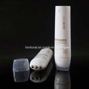 Couleur blanche des bouteilles de cosmétique de massage Tube en plastique pour le corps de la Lotion soins
