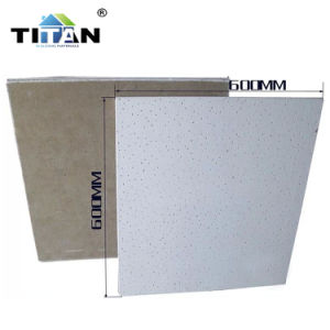 El aislamiento acústico en el techo de la junta de fibra mineral de techo