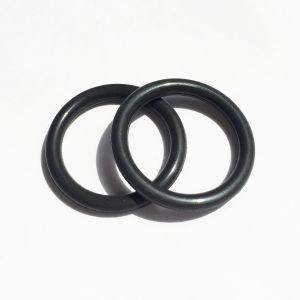 黒いゴム製シリコーンのOリングの製造業者の直接販売