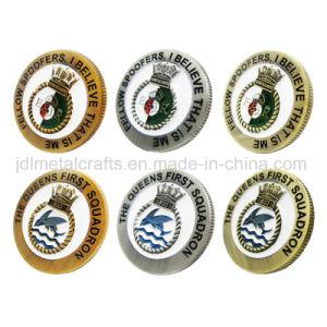 Großhandelsdoppeltes seitliches Andenken-Marine-Parodie-Geschwader-Gedenkmünzen des Metall3d (003)