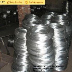 Fio galvanizado/de arame de ferro galvanizado/Fio de encadernação