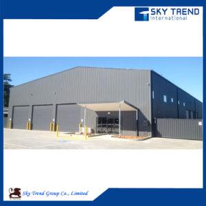 Стальные конструкции промышленного склада и пролить
