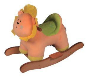 Rocking Horse- Lion/Madeira/Basculante brinquedos para bebés