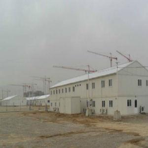 Baustahl-Rahmen-Lager-Aufbau