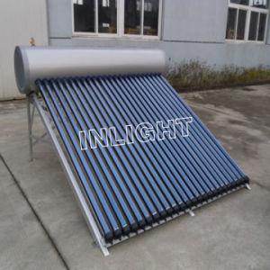 нержавеющая сталь компактный солнечный водонагреватель высокого давления