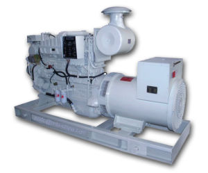 Cumminsのディーゼル機関の海洋の発電機セット