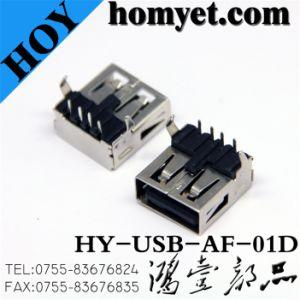 USB di DIP ad angolo retto un Type Connector per Computer Parte (USB-AF-01D)