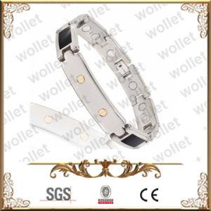 Schwarze Luxuxemaille-Titanschmucksache-Armband