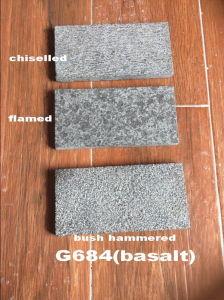 Черное Basalt Cube Stone для Pavement