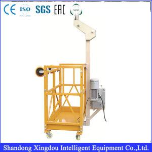 Trabajos aéreos de la plataforma portátil de la etapa de mantenimiento de Ascensor