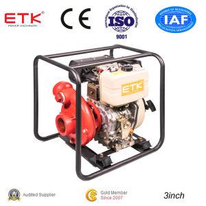 3  Strong Power Diesel Pompe à eau (grand réservoir)