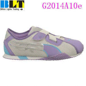 Sapatas atléticas do estilo da sapatilha do estilo de vida da menina de Blt