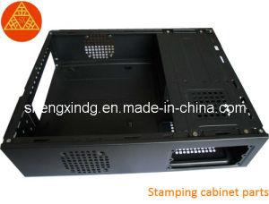 구멍을 뚫는 금속 컴퓨터 상자를 각인하는 것은 부속품 Sx104를 분해한다