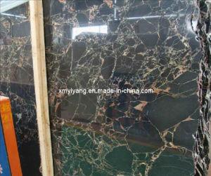 Tegels van Portoro van het netwerk de Zwarte Marmeren voor Muur en Vloer/Keuken