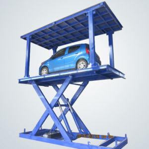 Duplo Deck de estacionamento hidráulico 4 post carro elevador