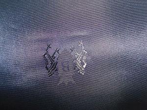 Polyester-kationisches Jacquardwebstuhl-Gewebe für Kleid-Gebrauch