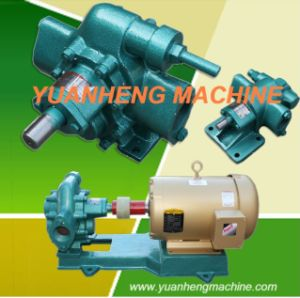 Pompa a ingranaggi rotativa per il trasferimento liquido del gasolio, della benzina e del lubrificante