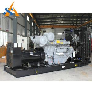 Aangedreven door Geluiddichte Generator 800kVA met de Goedkeuring van Ce Perkins