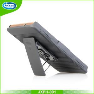 ホルスターベルトクリップHuawei P8ライトの堅いパソコンの箱のためのコンボの保護装置のケース