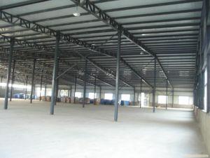Estructura de acero prefabricados para la construcción de taller (FLM-047)