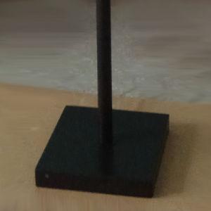 Candeeiro de Secretária de decoração de metal no interior e tecido candeeiro de mesa de sombra