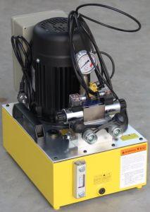 700 Bar de la bomba de pistón hidráulico eléctrico Industrial