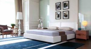 Домашняя табльдот современные спальни обставлены простой мебелью