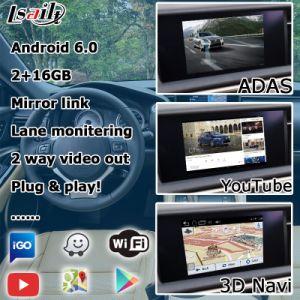 Android Market 6.0 Sistema de navegação GPS para a Lexus RC200T RC300h 2015-2017 etc Interface de Vídeo
