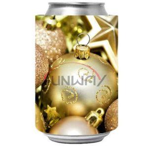 Regalo rechoncho de la Navidad del refrigerador de la cerveza de bebida del sostenedor promocional de la poder (BC0041)