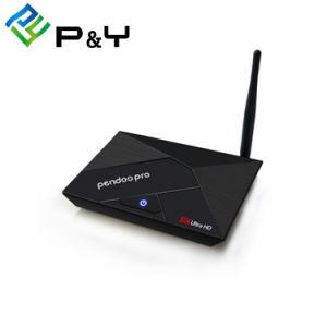 Pendoo PROkasten 4K Fernsehapparat-Rk3328 intelligent mit Video-Player des Android 7.1