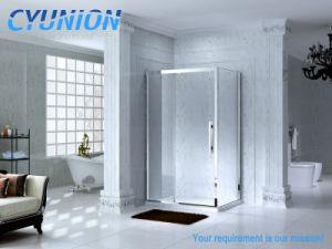 2018 Banheiro Gabinete de porta corrediça com vidro temperado de Cabina de Duche Square Gabinete de articulação da estrutura do canto Completo / sem caixilho simples Receptáculo de cabina