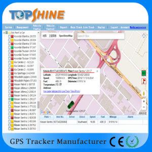GPS van het voertuig Drijver met Afgesneden Motor over het Alarm van de Snelheid