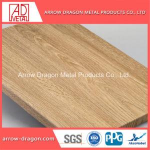 木の質の装飾的な壁のためのアルミニウム蜜蜂の巣の羽目板