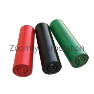 La gravedad de la cinta transportadora de acero impulsado por el rodillo tensor de la cinta transportadora para la manipulación de materiales a granel