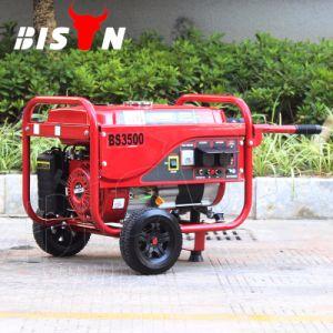 비손 ((M) 2.8kw 2.8kVA 중국) BS3500p 구리 철사 단일 위상 반동 시작 휴대용 공냉식 가솔린 발전기